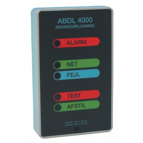 ABDL 4000 Kontrollenhet