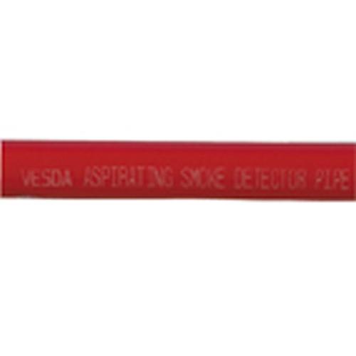 3m Aspirationsrör 25mm, röd