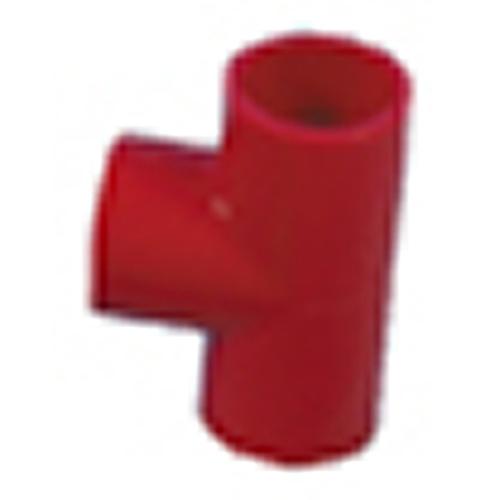 T-Koppling 25mm, Röd
