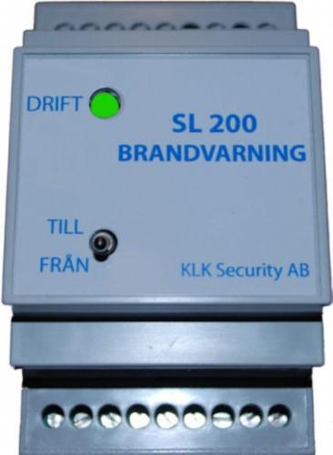 Brandindikeringscentral SL200S