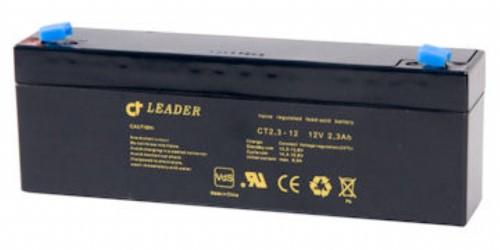 Batteri l2 V 2,1  Ah inkl.milj