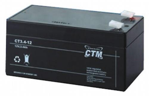 Batteri l2 V 3,0 Ah inkl.miljö