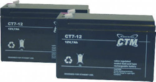 Batteri CT7-12LX 10år
