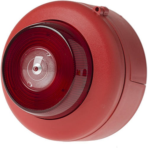 Blixt EN54 röd/vitt ljus Tak