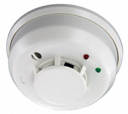 Rökdetektor med siren RF DF8M