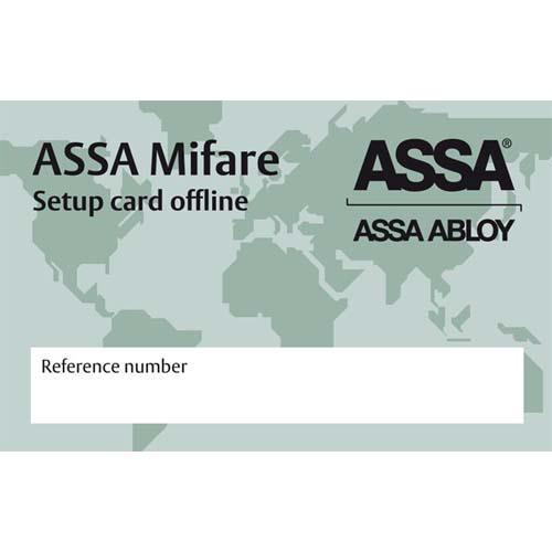 ARX Setupkort/krypteringnyckel
