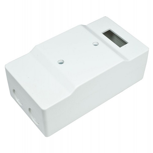 4101.02 Plastic box, 1 module