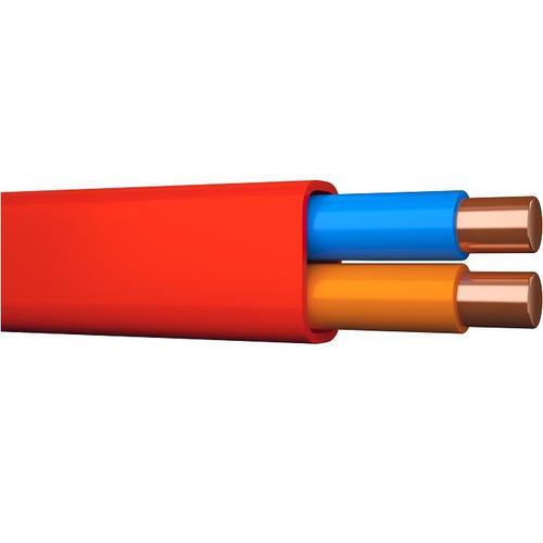 ELQRB PURE röd 2x1,0 flat 200