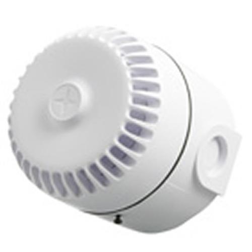 SEC 03 / 230 VAC,Lydgiver,hvid