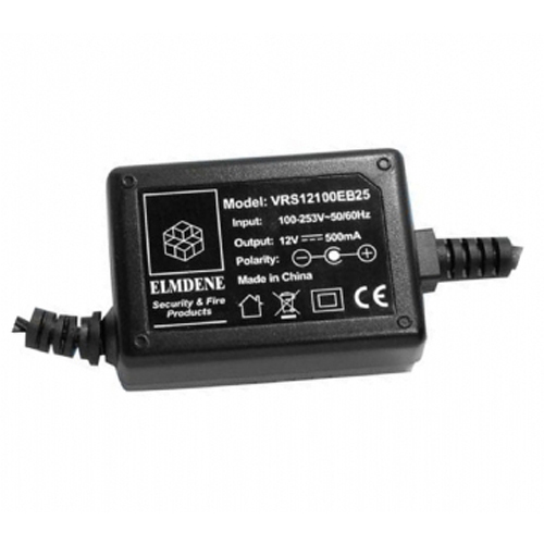Elmdene Vision Nätadapter - 120 V AC, 230 V AC Input Voltage - 12 V DC Output Voltage - 1 A Output Current