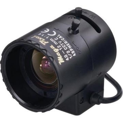 Objektiv M12VG412, 1/2'', 4-12m