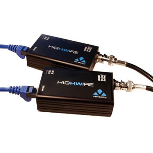 VHW-HW Omvandlare IP över koax