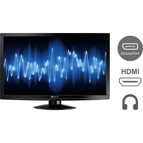 LW-22E 22'' FHD Monitor Black