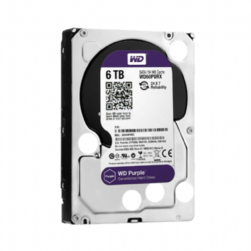 WESTERN DIGITAL 6TB SURVEILLANCE HARD DRIVE