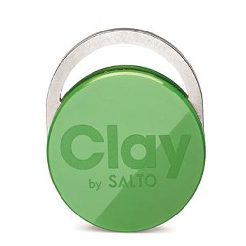 CLAY TAG GREEN GRASS (5 pcs)