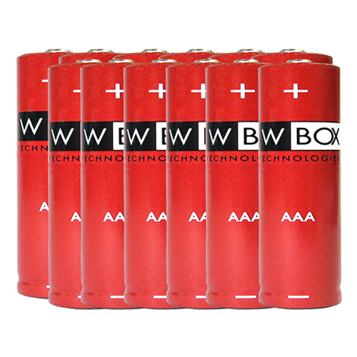 W Box Flerfunktions Batteri - AAA - Alkaline - 12 Pack