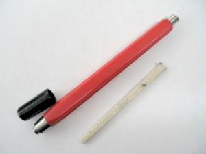 Rökpenna för test av asp. sys.