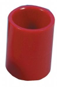 Rörskarv 25mm, röd
