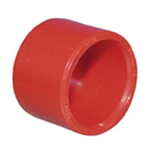 Ändplugg 25mm, röd