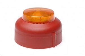 Blixtljus VXB-1-SB-RB/AL Röd s