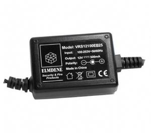 Elmdene Vision Nätadapter - 120 V AC, 230 V AC Input Voltage - 12 V DC Output Voltage - 1 A Output Current