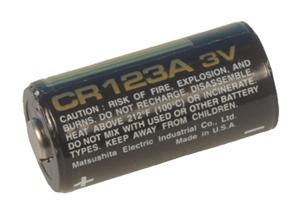 Batteri 3,0V CR123A