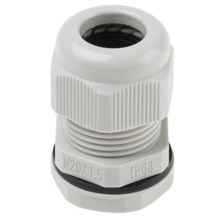 M20 Cable Gland, Locknut, IP68