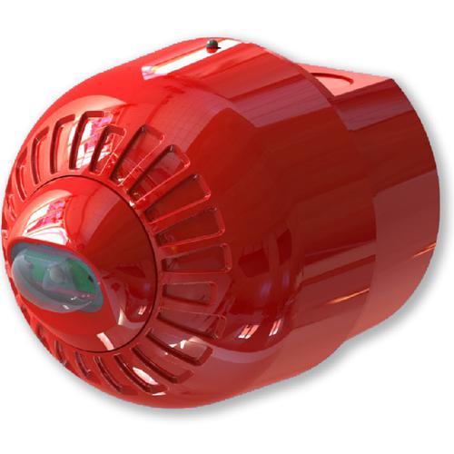 Texecom Sonos Pulse - Trådbunden - 60 V DC - Hörbar - Går att montera på vägg - Röd, Röd