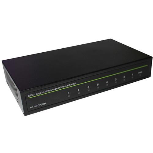 Switch Unmanaged 8 Port Gigabit