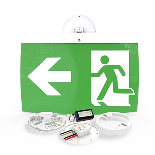 40m Exit Sign Kit, LEFT arrow