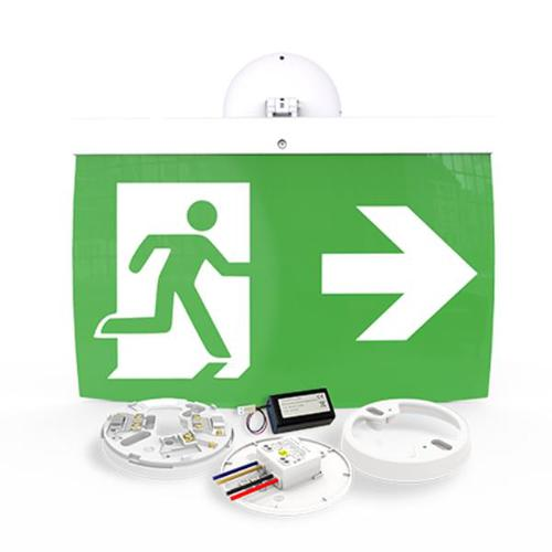 40m Exit Sign Kit, RIGHT arrow