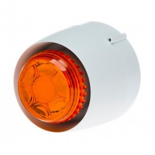 Kombi VTB-12V-SB-WB/AL Vit siren/Orange blixt 12 Vdc IP43