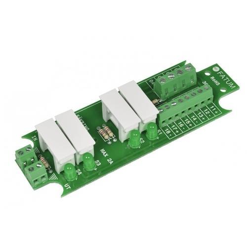 Fuse module 1 -> 4 pair, screw