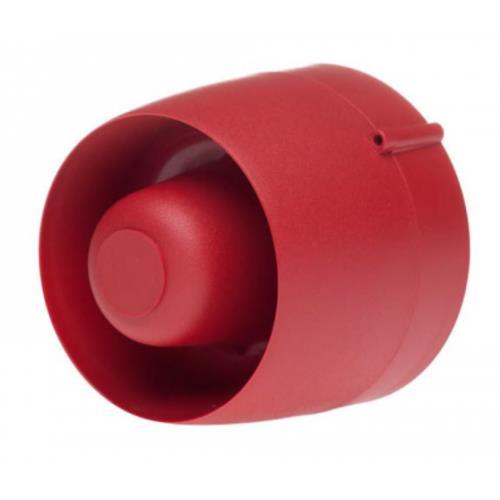 CRANFORD CONTROLS RED VTG WALL SOUNDER SHALLOW BASE 24VDC