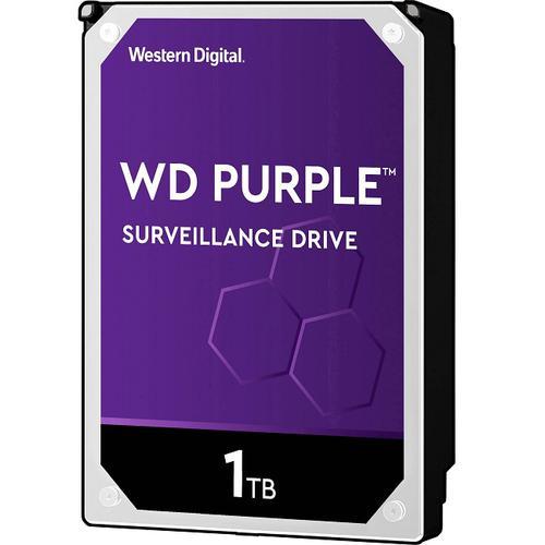 """Hikvision Purple WD10PURZ 1 TB 3.5"""" Intern Hårddisk - SATA - 5400rpm - 64 MB Buffert"""