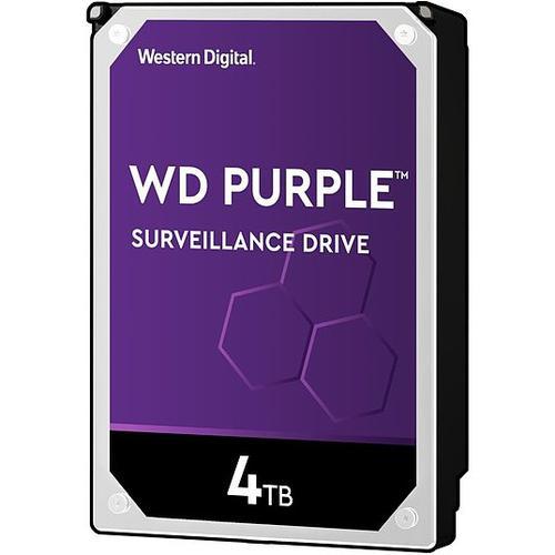 """Hikvision Purple WD40PURZ 4 TB 3.5"""" Intern Hårddisk - SATA - 5400rpm - 64 MB Buffert"""