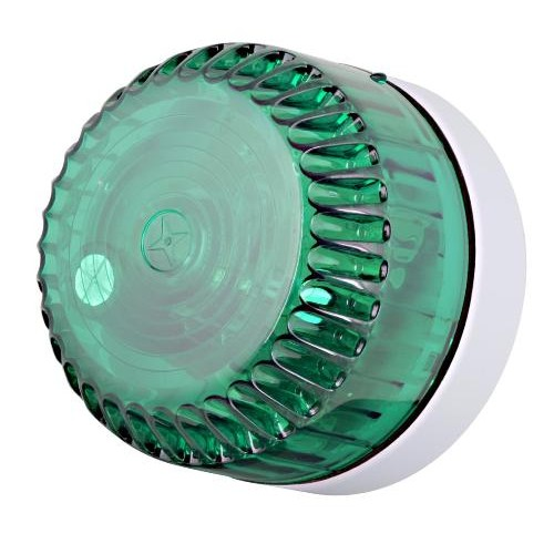 Blixtljus Solex Grön 9-60Vdc