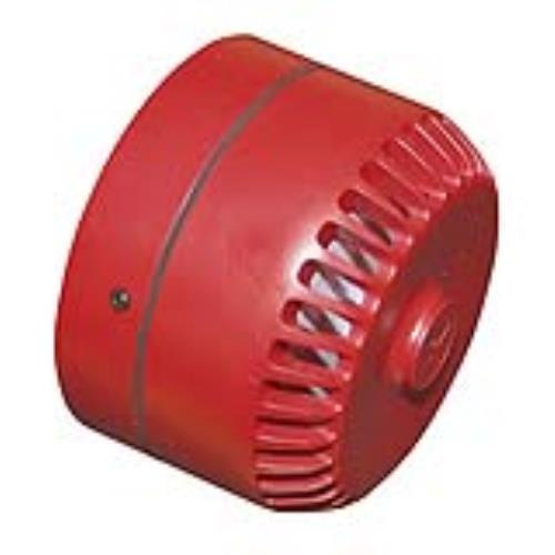 EATON ROSHNI LOW PROFILE FIRE ALARM SOUNDER RED