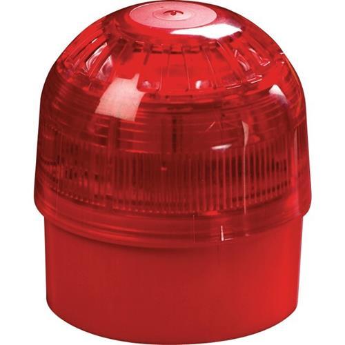 Adresserbar Siren flash Röd