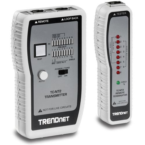 TRENDnet TC-NT2 Kabelanalysator - Upptill 0,30 km Lenght Measurement