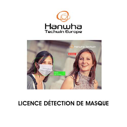 S/WARE LICENSE Face Mask Detection 1CH