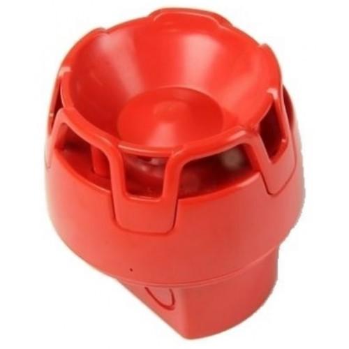 Siren KAC Röd IP65 EN54-3