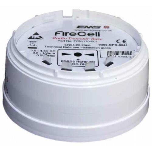 EMS FireCell Detektorsockel