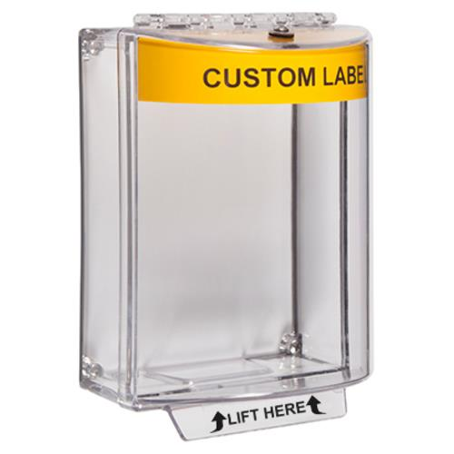 Univ Stop-yellow sound-clear-Custom lab