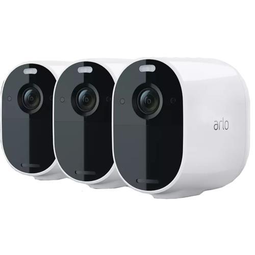 Arlo Essential Spotlight 1080p 3pcs Wh.