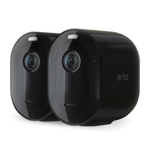 Arlo Pro 3 Kit Two 2K HDR Cameras, Black