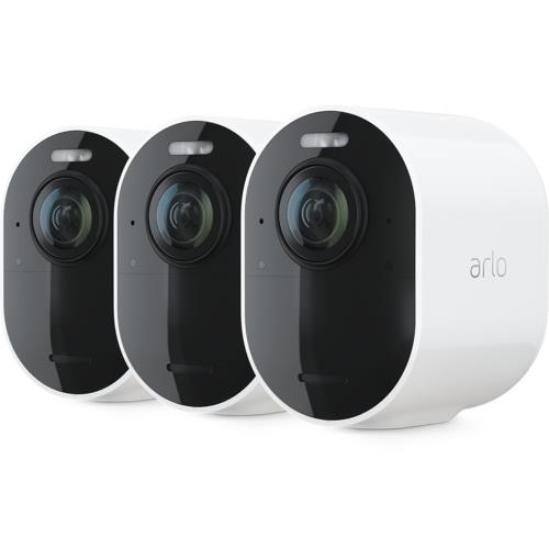 Arlo Ultra Kit 3 4K HDR Cameras, White