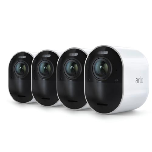 Arlo Ultra Kit 4 4K HDR Cameras, White