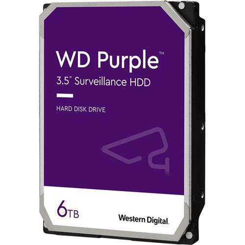 """Storage Hdd Sata3 3.5"""" 6tb Purple 24/7"""