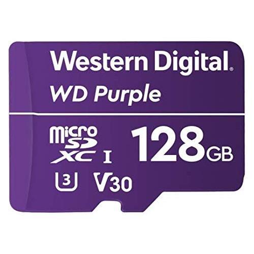 WDD128G1P0A 128GB MicSD Purple